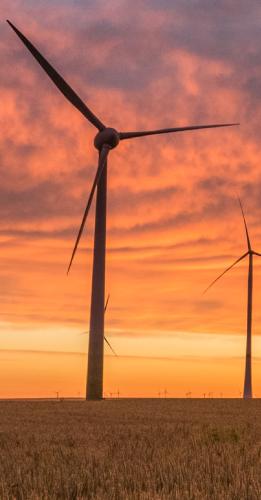 Energía eólica - Molino de Viento - Aerogeneradores
